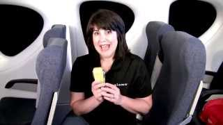 Installing a Forward-facing Diono Convertible Car Seat on an Airplane