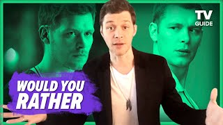 Joseph Morgan Plays Who Would You Rather: Klaus Vs CJack60