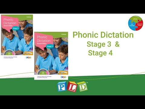 Phonic Dictation - Stage 3 (eBook)