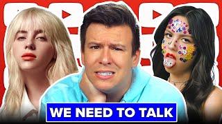 WHY THE INTERNET IS FREAKING OUT ON BILLIE EILISH, Olivia Rodrigo, Fake Vax Card Arrests, Texas Bans