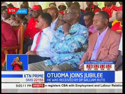 Former Funyula MP Paul Otuoma reveals why he switched to Jubilee from NASA