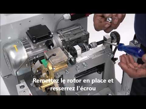 AXRO FQC2: L'élastique ne peut pas être inséré dans la machine