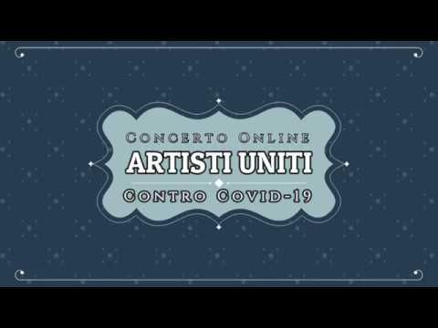 Artisti Uniti Contro Covid 19 - Ideato e prodotto da Antonio de Robertis in collaborazione con Pasquale Scalise.