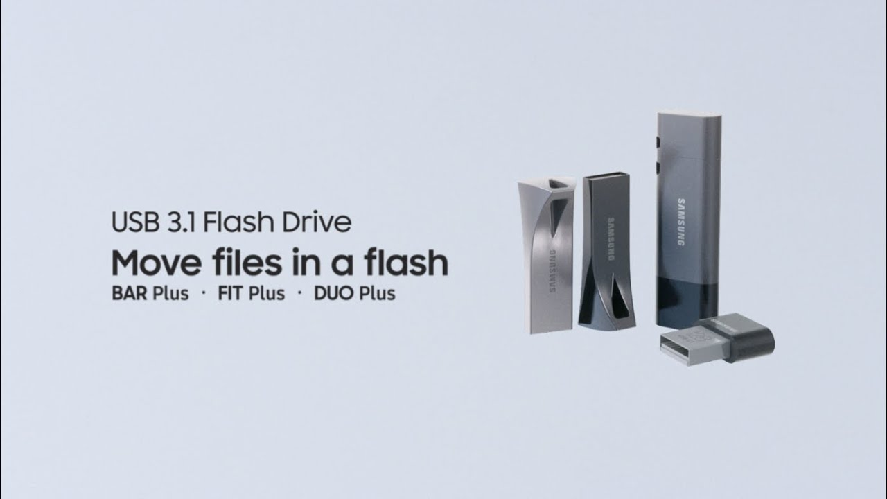 Samsung USB Flash Drive BAR   FIT   DUO Plus : Move files in a flash thumbnail