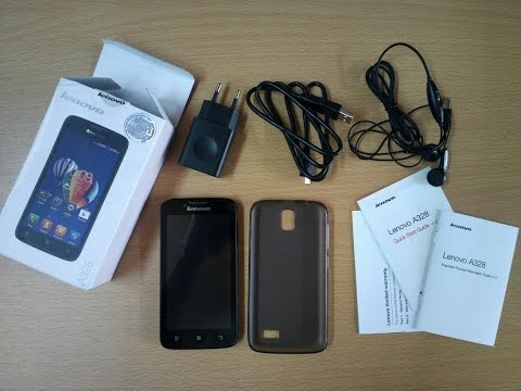 Lenovo A328 Unboxing and Quick Review - Dual Sim Android KitKat Budget Phone