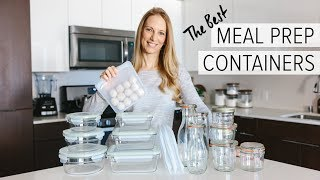 MEAL PREP CONTAINERS: 4 awesome containers that aren't plastic