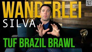 Wanderlei Silva TUF Brazil Brawl - here's what happened...