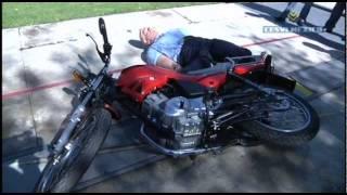 Low Speed Crash Test Yamaha YBR125