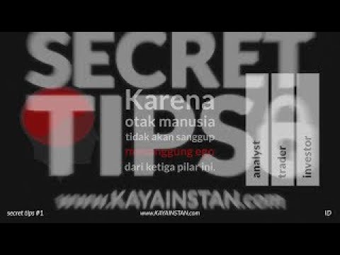 SECRET TIPS #2 _INDONESIA_  >   FIRST BIG STEP TO BE AN ANALYST