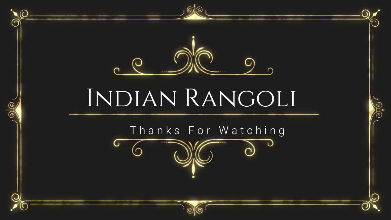rangoli competition award winning traditional design