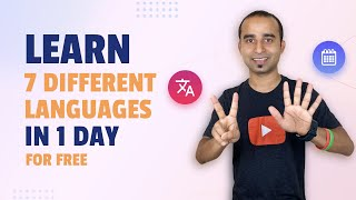 Learn 7 Different Languages in One Day    Learn Language  Translation API    Python Projects