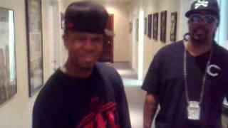 Lil Flip & Chamillionaire in the studio