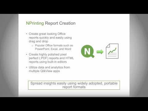 QlikView отчеты дистрибуция отчетности рассылка отчетов по филиалам NPrinting
