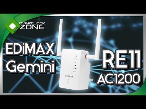 รีวิว EDiMAX Gemini RE11 AC1200 : Access Point
