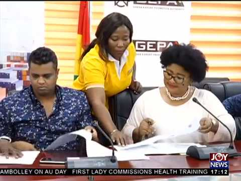 Ten-Year Cashew Development - Business Live on JoyNews (25-5-18)