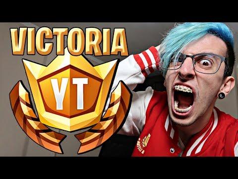 MI VICTORIA EN EL TORNEO DE FORTNITE !! - RobleisIUTU