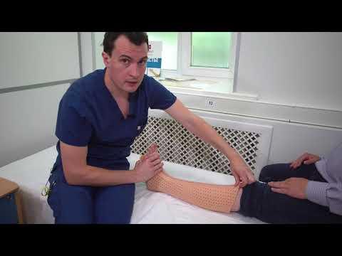 ORDEKT - Пластиковый гипс (ортез) на голеностопный сустав
