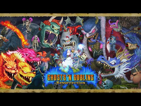 Capcom宣佈《經典回歸 魔界村》將於未來登陸PS4/Xbox One/PC(Steam)平台