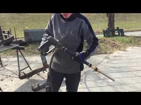 Kärcher Naßstrahlen Kränzle Sandstrahlinjektor