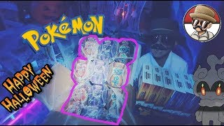 Marshadow  - (Pokémon) - Opening New Mysterious Powers Tins!! Carls SPOOKY Shipment! Do we open Marshadow? Ho oh? Necrozma?