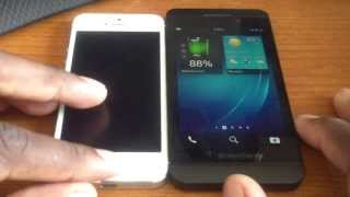 5 things the Blackberry Z10 does better than the iPhone 5!