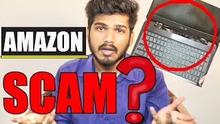 AMAZON SCAM EXPOSED (Damaged laptop delivered) | Amazon or seller's FRAUD? | Unboxing Laptop(FAIL)