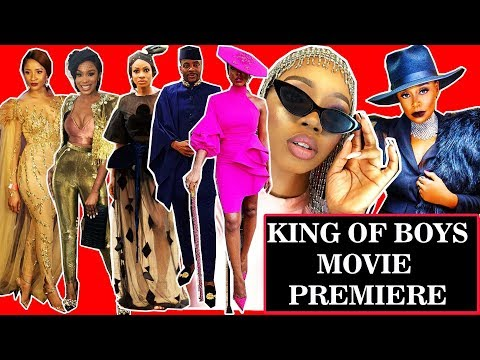 KING OF BOYS MOVIE PREMIERE and AUDIENCE REVIEW.