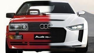 Quattro вчера и сегодня: AUDI создала совершенный полный привод?