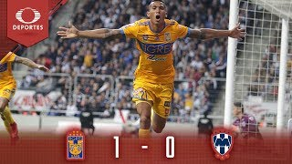 Resumen Tigres 1 - 0 Monterrey   Liga MX - Semifinal   Televisa Deportes