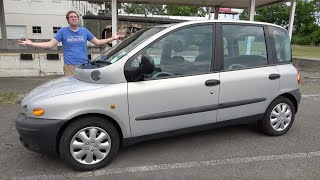 The Fiat Multipla Was an Incredibly Quirky (and Ugly) Family Car