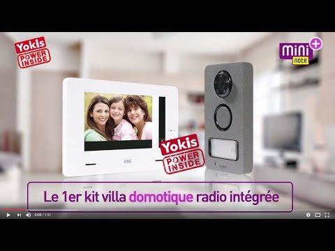 Mini Note Plus : l'interphone Urmet avec domotique intégrée