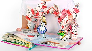 📚Alices Adventures In Wonderland In 10 Minutes: A Pop-Up Book