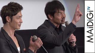 吉田栄作、玉木宏の主人公役に「昔の俺みたいに格好いい」映画「探偵ミタライの事件簿星籠の海」完成披露舞台あいさつ2
