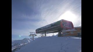Nouveau télésiège débrayable du Mont Corbier