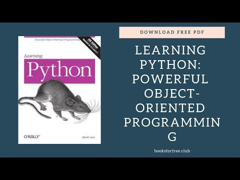 Download Learning Python Powerful Object Oriented Programming free pdf   booksforfree.club