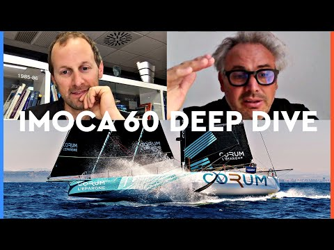 Deep dive into the IMOCA 60 design and foils