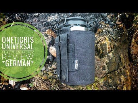 OneTigris Universal Flaschen Halter Review *German*