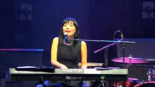 Dami Im - Without You -  14/12/14 @ John Legend Concert Adelaide