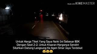 preview picture of video 'BARU NYAMPE,PULANG LAGI KE IBUKOTA ~ Trip Sinar Jaya 62 RC Purwokerto - Jakarta (Kp Rambutan)'