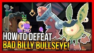 How to beat Bad Billy Bullseye!! FLINT HOOK: Defeating First Boss Ever in Flint Hook!