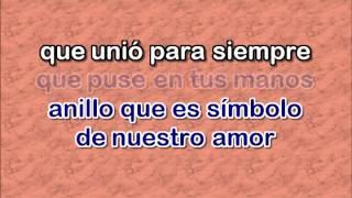 307• Anillo De Compromiso   Vicente Fernandez DEMOS