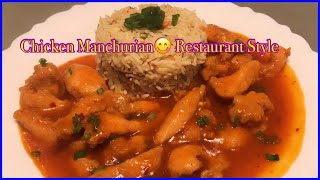Chicken Manchurian restaurant style easy and quick recipe by Punjabi food diaries #chinese #chicken