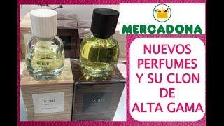 NUEVOS PERFUMES MERCADONA MARZO 2018 Y SU IMITACIÓN ALTA GAMA | Perfumes Imitación Mercadona |