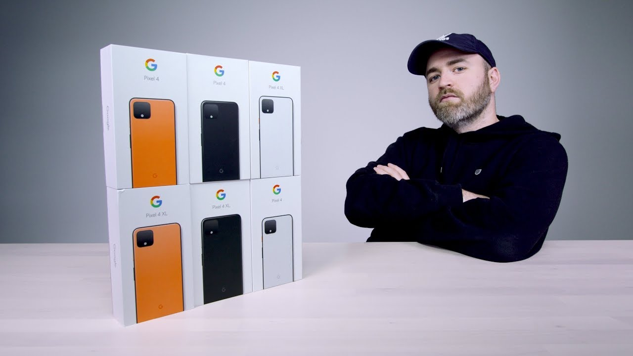 Unboxing Every Google Pixel 4 thumbnail