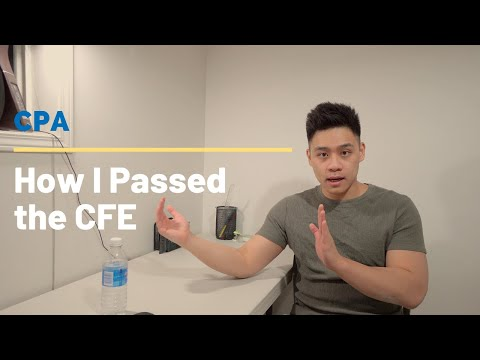 How I passed the CFE (CPA) - YouTube