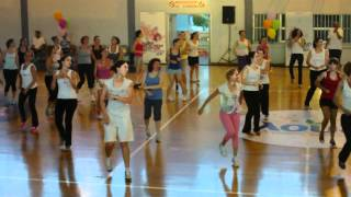 preview picture of video 'Sh'Bam Fitness Event sto Aigio'