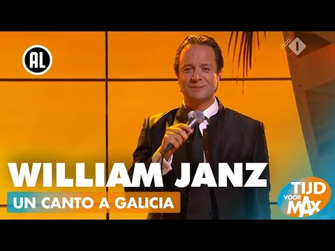 William Janz - Un Canto a Galicia (Julio Iglesias) | TIJD VOOR MAX