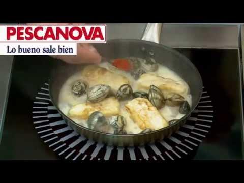 Imagen de la receta de Filetes de Merluza a la Pimienta Verde