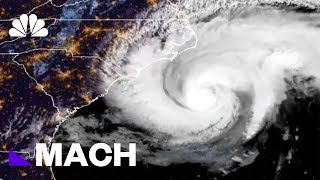 Tracking Hurricane Florence As It Makes Landfall | Mach | NBC News