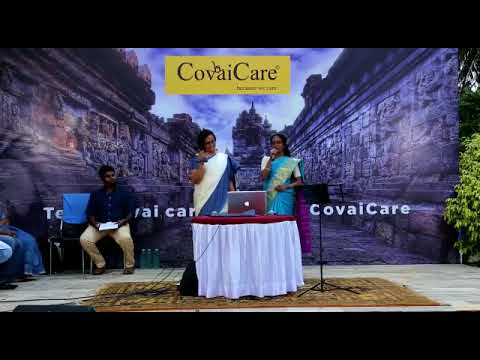 Layam 8 Music Troop performing at Covai S3 Senior Care Centre